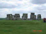 Stonehenge, about an hour away