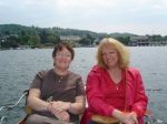 Rowing on Lake Windemere in the Lake District