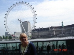London Eye, on the Thames River